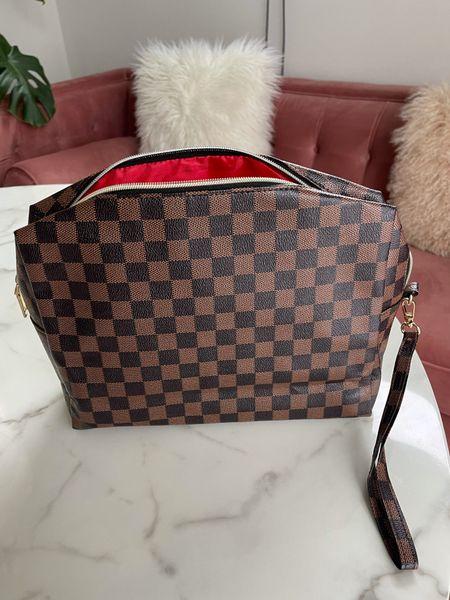 Amazon fashion travel bag, toiletry bag   #LTKunder50 #LTKtravel #LTKGiftGuide
