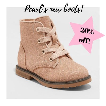 20% off shoes for the fam using target circle!! These toddler boots are too cute!   #LTKbaby #LTKshoecrush #LTKkids