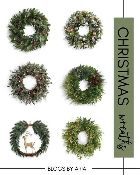 Christmas wreaths on sale! These wreaths are so stunning and definitely worth the investment to last for years to come. Christmas decor holiday decor #ltksalealert   #LTKHoliday #LTKhome #LTKSeasonal