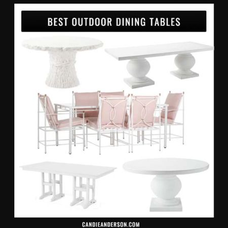 Best white outdoor dining tables. Patio table for dining and entertaining. Pottery Barn outdoor furniture. Serena & Lily outdoor dining table. Wayfair outdoor dining table. White table with blush pink dining cushions. One Kings Lane outdoor dining table. ❤️ http://liketk.it/3hi2e #liketkit @liketoknow.it #LTKhome #ltkseasonal @liketoknow.it.home Shop your screenshot of this pic with the LIKEtoKNOW.it shopping app Shop my daily looks by following me on the LIKEtoKNOW.it shopping app