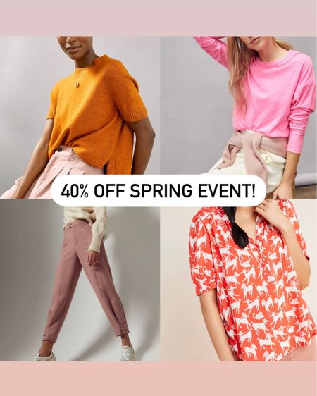 Spring sale 40% off now! http://liketk.it/38UgI @liketoknow.it #liketkit #LTKsalealert #LTKSeasonal #LTKstyletip