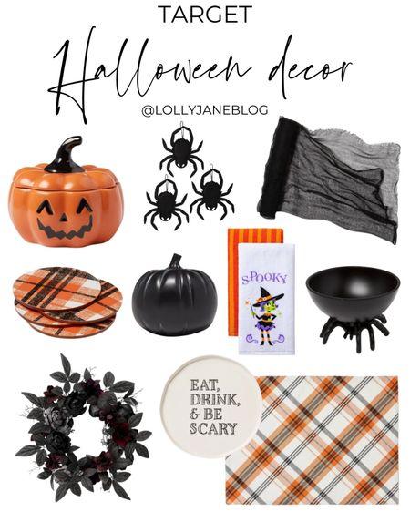 Target Halloween decor!  Lolly Jane Blog | #LollyJaneBlog   #LTKhome #LTKunder100 #LTKunder50