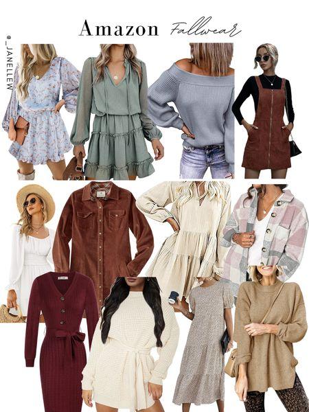 Fall galore #fall #shackets #dress #sweaters #oversized #floral #top #fallcolors #white #midi #maxi #corduroy   #LTKSeasonal #LTKGiftGuide #LTKHoliday