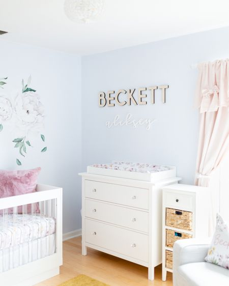 We are still obsessed with Beckett's nursery! It's my favorite room in the house. Still can't believe we have a 5 week old baby. She's changed our world so much already and we are in love. 💕 I blogged about the nursery recently + I have everything linked if you want to get your hands on anything!    http://liketk.it/2VF1t @liketoknow.it #liketkit #motherhood #nursery #pregnancy #babygirl #momblogger