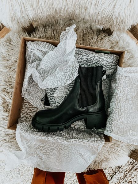 Can't wait for fall so I can wear these platform chelsea boots! Only a few days left to get them on sale! Linked a few other favorites for cooler temps!  #LTKshoecrush #LTKsalealert #LTKunder100