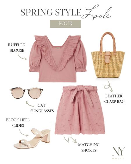 Two piece matching set for spring. Absolutely love this feminine set and linked more for you guys! Sharing a full post on styling two piece sets on natalieyerger.com next week. Follow on Instagram to see when it's released. xo! http://liketk.it/2O01Z #liketkit @liketoknow.it #LTKspring #StayHomeWithLTK #LTKstyletip