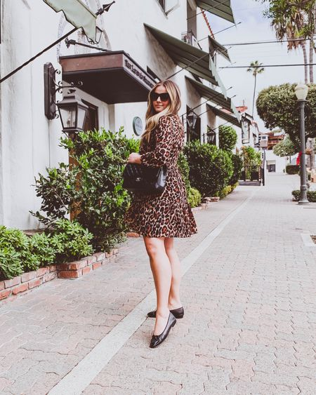 { today's church outfit 👗🐆 my figure-flattering dress is 50% off right now and also comes in 2 other prints in case my leopard obsession isn't something we share in common 😜 http://liketk.it/2ZAIc #liketkit @liketoknow.it #LTKstyletip #LTKunder100 #LTKsalealert }