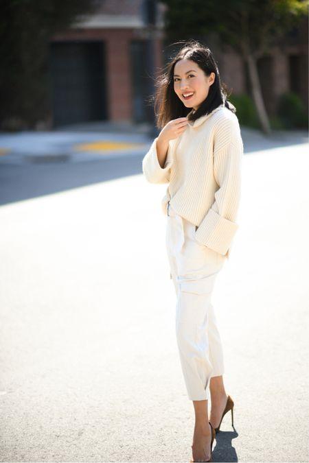 Oversized wool cashmere - so cozy!!! I'm wearing an XS.  #LTKSeasonal #LTKworkwear #LTKstyletip