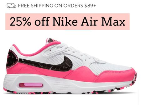Nike air max sneakers on sale   #LTKunder100 #LTKsalealert #LTKshoecrush