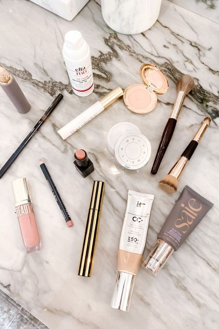 Summer makeup look // foundation, under eye corrector, brushes, mascara, lip gloss, brow pencil, lip pencil http://liketk.it/3h6HH #liketkit @liketoknow.it