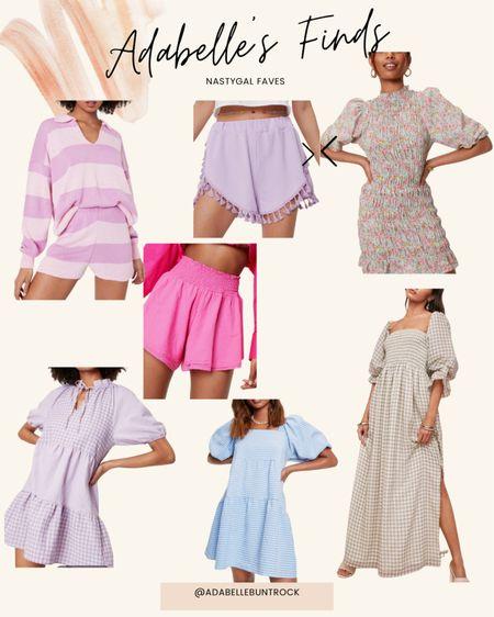 Gingham shorts set loungewear dresses nastygal @liketoknow.it http://liketk.it/3gHa8 #liketkit #LTKunder50 #LTKunder100 #LTKsalealert