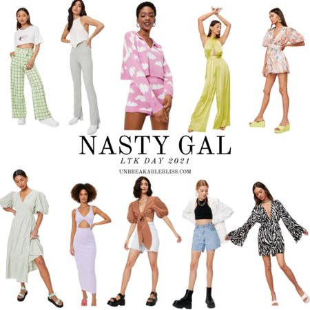 Seriously obsessed with the bold and colorful pieces from Nasty Gal! Summer wardrobe on point! @liketoknow.it #liketkit #LTKDay #LTKsalealert #LTKunder50 http://liketk.it/3hci5
