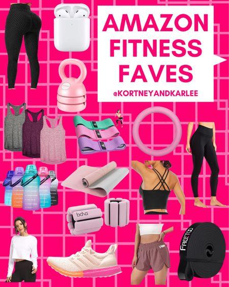 Amazon Fitness Faves!  Amazon workout gear | amazon fitness | amazon fitness favorites | amazon fitness finds | amazon athletic gear | fitness gear | fitness equipment | amazon fitness gear | amazon fitness equipment | Kortney and Karlee | #kortneyandkarlee @liketoknow.it #liketkit  #LTKunder50 #LTKunder100 #LTKsalealert #LTKstyletip #LTKshoecrush #LTKSeasonal #LTKfit #LTKhome