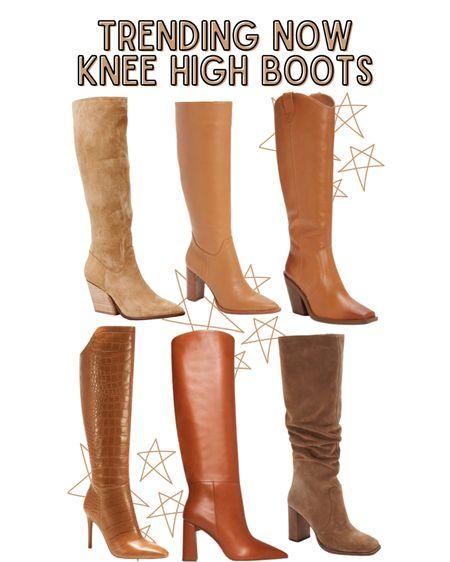 Tan knee high boots!   #LTKSeasonal #LTKshoecrush #LTKHoliday