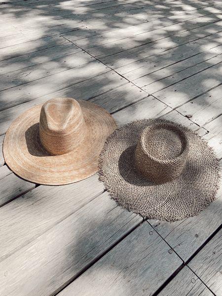 Favorite sun hats! Lack of color summer hats beach hats straw hats palms fedora hat   #LTKswim #LTKstyletip #LTKunder50