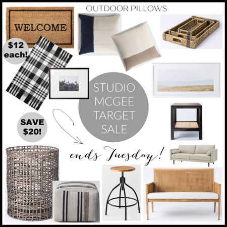 Flash sale at Target! Studio McGee favorites on major discounts until Tuesday! Shop fast before they all go! http://liketk.it/3hZTt #liketkit @liketoknow.it