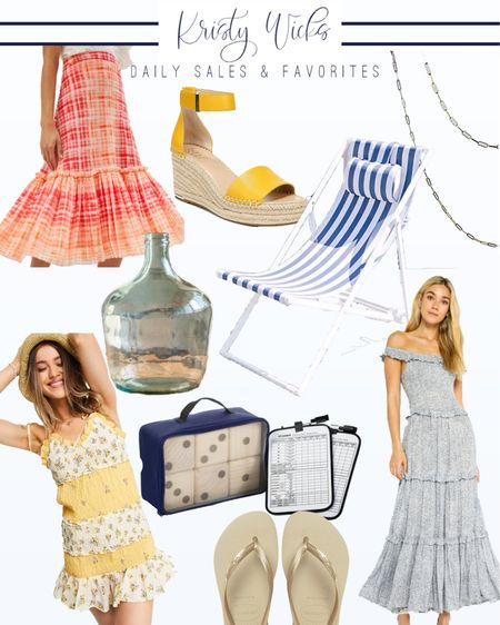 So many summer sales today ☀️ The warm weather has me so excited for dresses, sandals, lawn games and sling back chairs. I hope you find something you love! http://liketk.it/3hCFI #liketkit @liketoknow.it #LTKsalealert #LTKunder100 #LTKhome