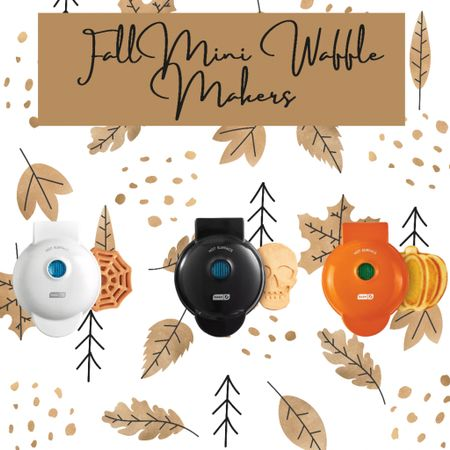 My kids are gonna die over these cute fall/Halloween inspired waffle makers! Great idea when getting them excited for breakfast time! 🎃     #LTKkids #LTKSale #LTKhome