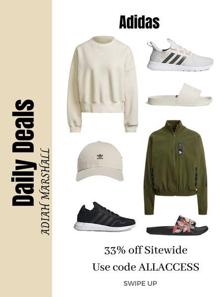 Adidas 33% off site wide sale  Use code ALLACCESS   #LTKSeasonal #LTKunder100 #LTKsalealert