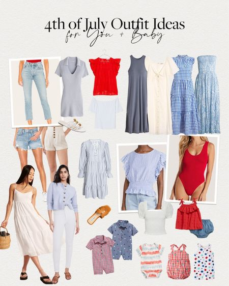 Brighton Butler's Fourth of July outfit picks for you and baby.   http://liketk.it/3hPoT #liketkit @liketoknow.it