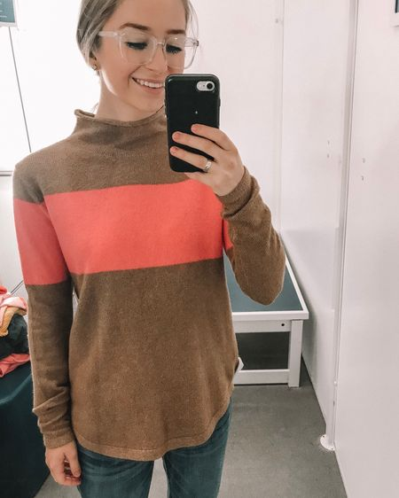 I have been obsessed with this Old Navy colorblock sweater! I just love the colors together! http://liketk.it/2yzWq #liketkit @liketoknow.it #LTKholidaystyle #LTKsalealert #LTKunder100 #LTKunder50 #LTKstyletip