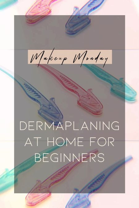 How to shave/dermaplane your face at home for smoother skin and better makeup application!  • At Home Face Razors  #LTKunder50 #LTKbeauty
