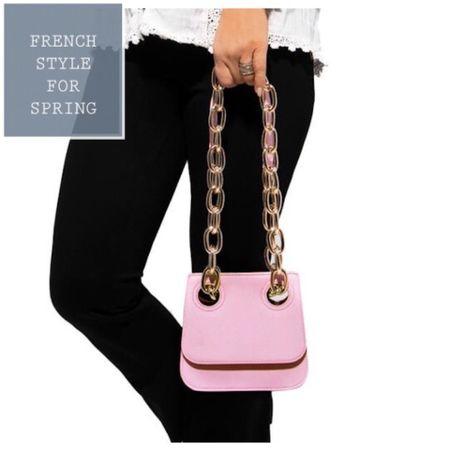 The pink handbag for spring.  What could be better??  #LTKSpringSale #LTKstyletip #LTKeurope @liketoknow.it.europe http://liketk.it/3aIKY #liketkit @liketoknow.it