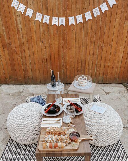 backyard birthday picnic 🤍 #LTKfamily #StayHomeWithLTK #liketkit http://liketk.it/3bg4R @liketoknow.it