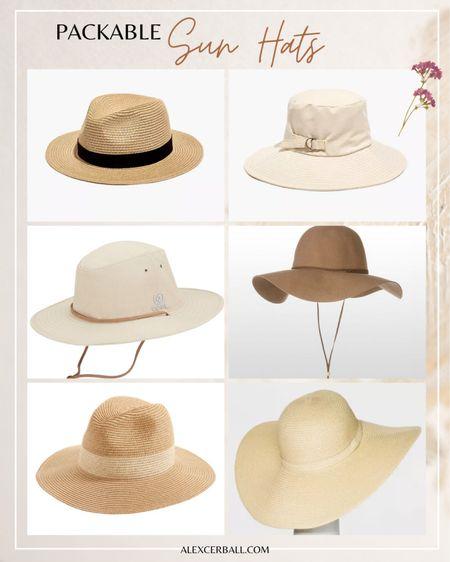 Packable sun hats http://liketk.it/3fBJs #liketkit @liketoknow.it   #LTKtravel #LTKstyletip