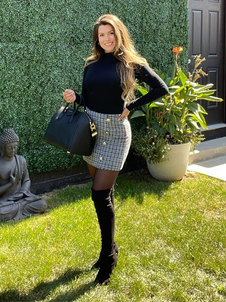 You can never go wrong with some over the knee boots!   #LTKshoecrush #LTKstyletip #LTKitbag