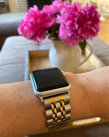 Apple Watch on rollback. Two toned watch band. Pitcher.   http://liketk.it/3gyxJ #liketkit @liketoknow.it #LTKsalealert #LTKunder50 #LTKfamily