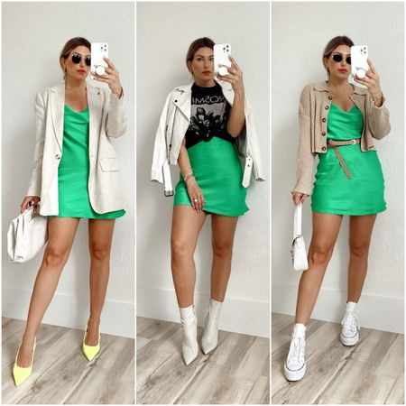 WTWI // Green Mini Dress  #LTKSeasonal #LTKaustralia #LTKstyletip