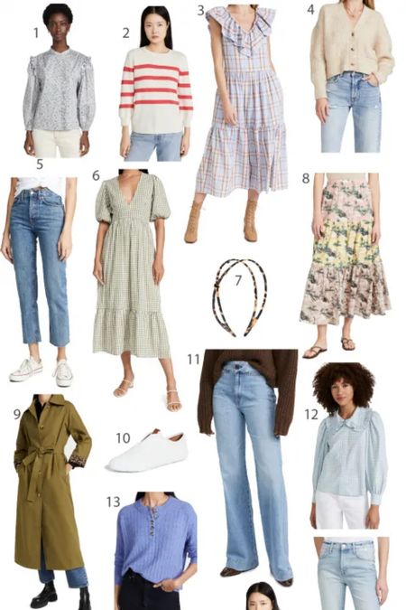 My Shopbop sale picks. These are fall transitional outfits - fall dresses, mom jeans, straight jeans, collar blouses etc    #LTKsalealert #LTKstyletip #LTKGiftGuide