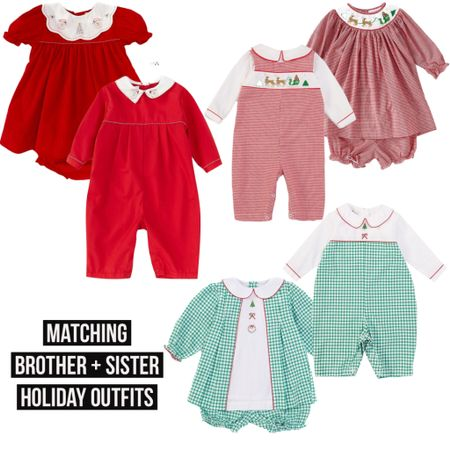 Matching Brother and Sister Christmas Outfits! Links in LTK  #family #petitami #babystyle #christmas #holiday #holidayseason #brother #sister #LTKbaby #LTKunder50 #LTKfamily @liketoknow.it #liketkit http://liketk.it/31zan