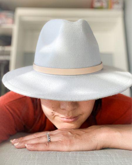 Wool hat in baby blue. @liketoknow.it #liketkit http://liketk.it/2ZCrc