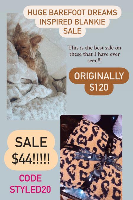 Barefoot dreams inspired!!!! Code STYLED20 for the price $44!!!!! Sale !!!  #LTKunder50 #LTKhome #LTKsalealert