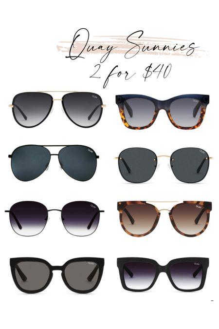 Quay Sunnies 2 for $40 Sunglasses   #LTKstyletip #LTKSeasonal #LTKsalealert