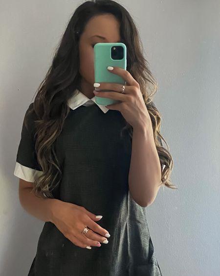 Schoolgirl style work dress retro vibe wearing size small http://liketk.it/3h35I #liketkit @liketoknow.it #LTKstyletip #LTKworkwear #LTKsalealert