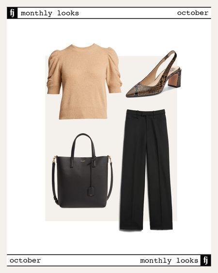 October fall outfit idea #falloutfits  #LTKworkwear #LTKstyletip #LTKunder100