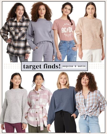 Target style finds! All these options come in tons of colors and are super affordable too🙌 #targetstyle #targetclothes #targetfinds #target   #LTKunder50 #LTKunder100 #LTKstyletip