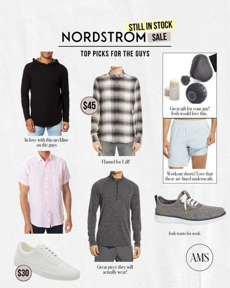 NORDSTROM ANNIVERSARY SALE ⭐️ Still in Stock: Men's Finds!  Shoes, fall fashion, and gift ideas all for the men in your life!  #LTKunder100 #LTKmens #LTKsalealert