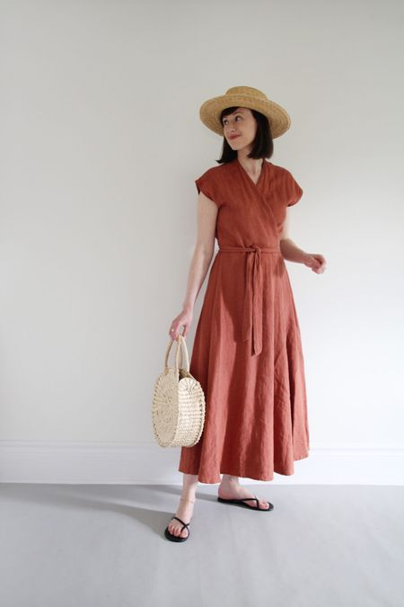 Style Theme - Dresses - Day 7  Hat - Klint by Janessa Leone  Dress - old Bag - Circulo by Artisan Fox Sandals - Riley by Tkees