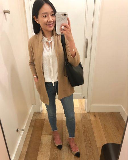 Outfit from this weekend which could also work as work wear. My sweater blazer is 40% off with the code SALEUPGRADE. I took size XXS. @liketoknow.it http://liketk.it/2BatZ #liketkit #LTKsalealert #LTKshoecrush #LTKspring #LTKunder100 #LTKstyletip #LTKunder50 #LTKworkwear