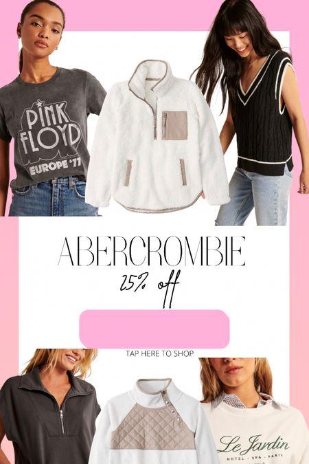 25% off Abercrombie!