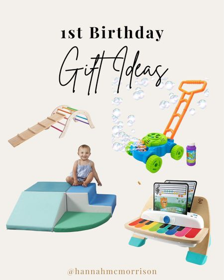 Can't believe Rory is almost 1! I created a gift round up for a one year old 🤩   #LTKunder50 #LTKbaby #LTKfamily