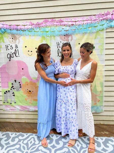 (Size XS dresses) gender reveal, baby, dresses, boy or girl, baby shower, baby gender reveal  #LTKunder50 #LTKbump #LTKfamily