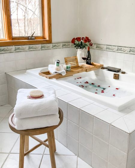 Relax in a spa like bath   #LTKSeasonal #LTKhome #LTKVDay