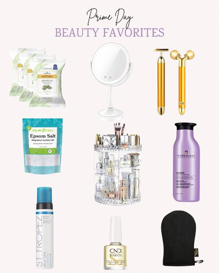 Amazon Prime Day is happening now! There are lots of great deals in beauty products and pretty storage options.   Double tap this post to save it for later.   Follow me for more ideas and sales.   #LTKbeauty #LTKsalealert #LTKunder50