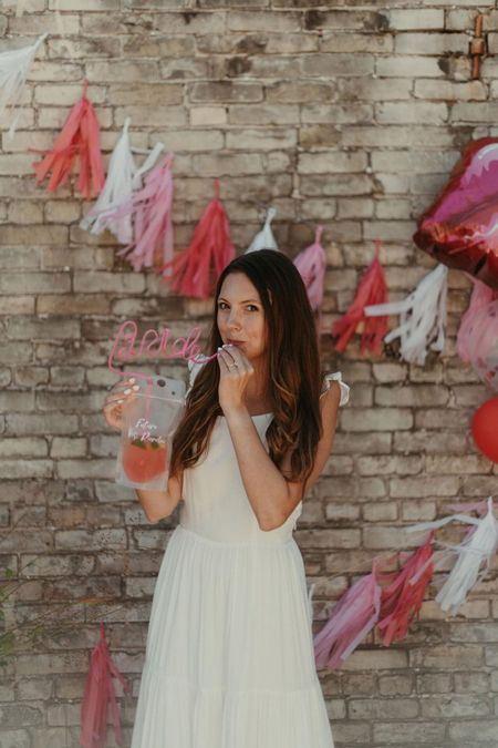 Kiss the Miss goodbye bridal shower ft. My favorite summer white maxi dress 💋  #bride #bridalshower #kissthemissgoodbye #frommisstomrs #mrs #miss #kiss #pink #red #pinkbridalshower #redbridalshower #whitebridalshower #bridalshowerdecor #weddingshower #weddingshowerdecor #flowerbar #bridalshowerflowers #weddingshowerflowers http://liketk.it/38sPk #liketkit @liketoknow.it #bridalshowerdress #bridalshowershoes #bridalshoweroutfit #weddingshoweroutfit #weddingshowerdress #whitemaxidress