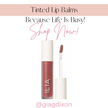 Tinted lip balms you can't go wrong with because life gets busy.  #LTKtravel #LTKstyletip #LTKbeauty